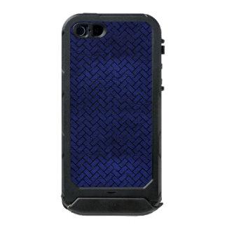 BRICK2 ZWART MARMEREN & BLAUW LEER (R) INCIPIO ATLAS ID™ iPhone 5 HOESJE