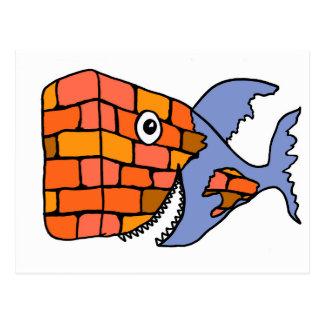 BrickFish Briefkaart