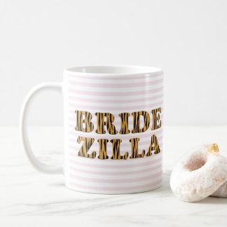 Bridezilla | Roze Strepen & Mok van het Citaat