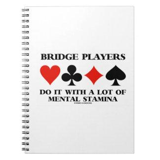 Bridge Players Do It With Heel wat Geestelijk Notitieboek