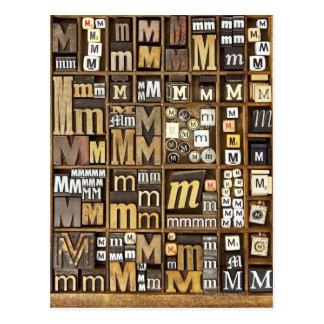 Brief M Briefkaart