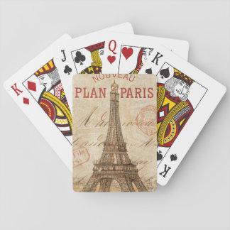 Brief van Parijs Speelkaarten