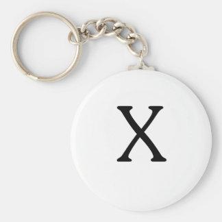 Brief X Monogram Keychain Sleutelhanger