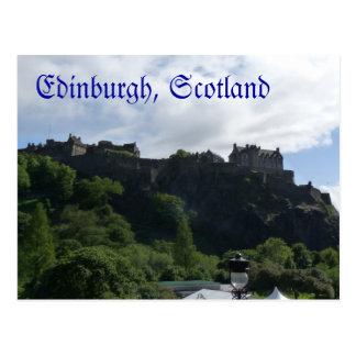 Briefkaart 1 van het Kasteel van Edinburgh