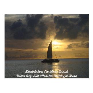 Briefkaart: Adembenemende Caraïbische Briefkaart