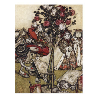 Briefkaart: Alice en Sprookjesland - Arthur Briefkaart