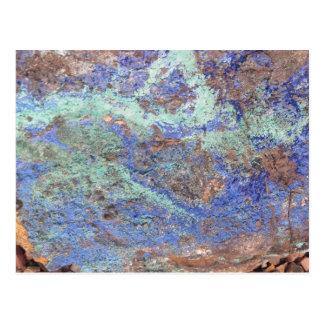 Briefkaart--Blauw Koper Briefkaart