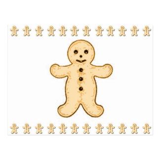 """Briefkaart """"Gingermen"""""""