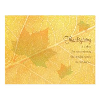 Briefkaart het bedrijfs van de Thanksgiving/voor Wens Kaarten