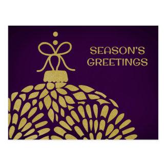 Briefkaart het bedrijfs van Kerstmis Wens Kaarten