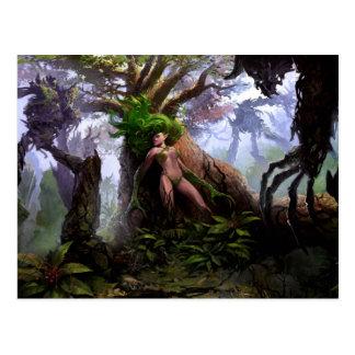 Briefkaart - het Bos van het Verdriet