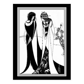 Briefkaart: Illustratie door Aubrey Beardsley Briefkaart