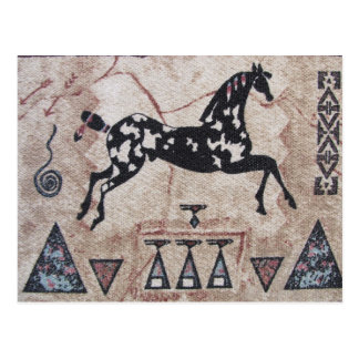 Briefkaart--Inheems Amerikaans Art. Briefkaart