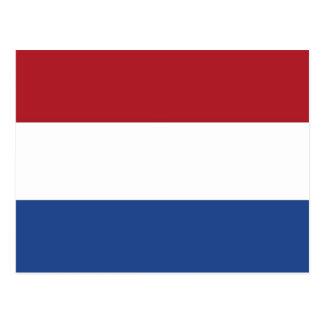 Briefkaart met Vlag van Nederland