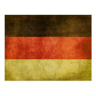 Briefkaart met Vuile Vlag van Duitsland