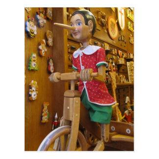 Briefkaart--Pinocchio Briefkaart