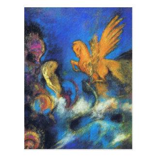 Briefkaart:  Roger & Engelwortel 2 door Odilon Briefkaart