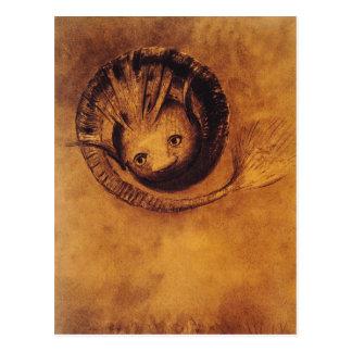 Briefkaart: Symbolist Kunstwerk: De hersenschim Briefkaart