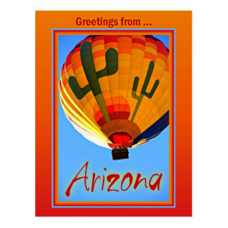Briefkaart van Arizona