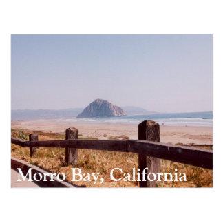 Briefkaart van Californië van de Rots van Morro
