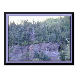 Briefkaart van de Bergen van Colorado het