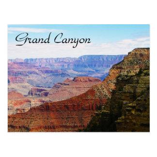 Briefkaart van de Canion van het bezoek het Grote