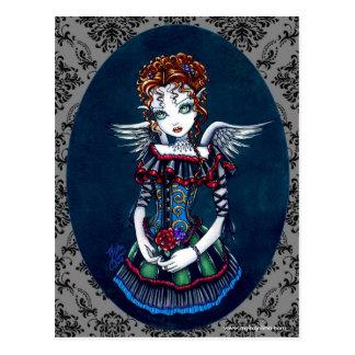 Briefkaart van de Engel van Annabelle het Gotische