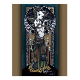 Briefkaart van de Engel van het Storm van de Fusie