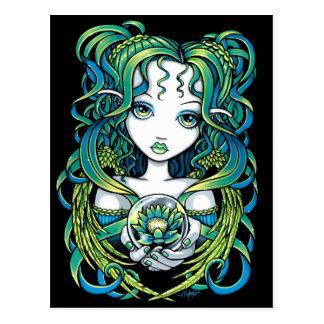"""Briefkaart van de Engel van het Water van """"Kallan"""""""