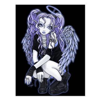 Briefkaart van de Fee van de Engel van Angelina