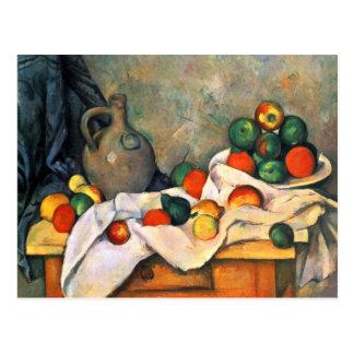Briefkaart van de Kunst van Cezanne het Fijne