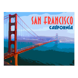 Briefkaart van de Reis van San Francisco het