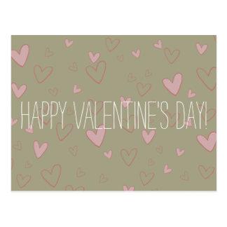 Briefkaart van de Valentijnsdag van het Patroon