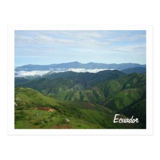 briefkaart van Ecuador