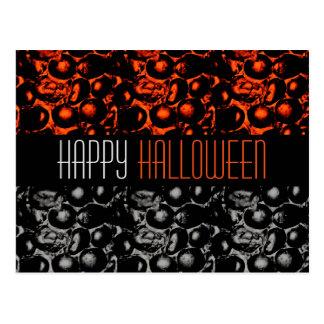 Briefkaart van Halloween van Glam het Gelukkige