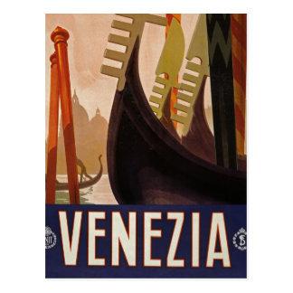 Briefkaart van het de reisafbeelding van Venezia