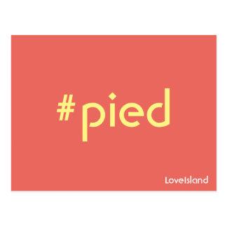 Briefkaart van het Eiland van de Liefde van