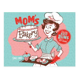 Briefkaart van het Moederdag van de Bakkerij van