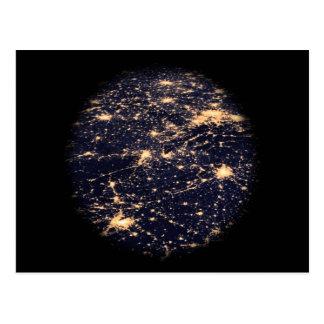 Briefkaart van het Netwerk van World Wide Web het