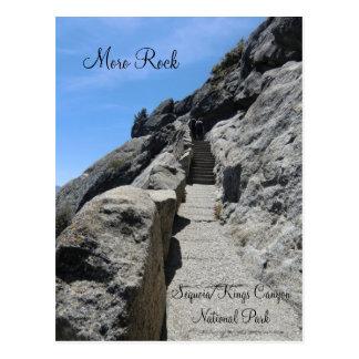 Briefkaart van het Park van de Sequoia van de Rots