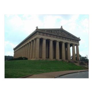 Briefkaart van het Park van Nashville TN van