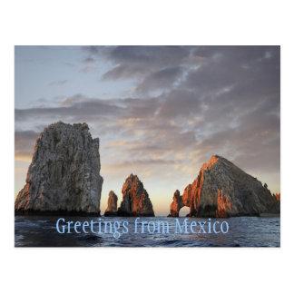 Briefkaart van Mexico