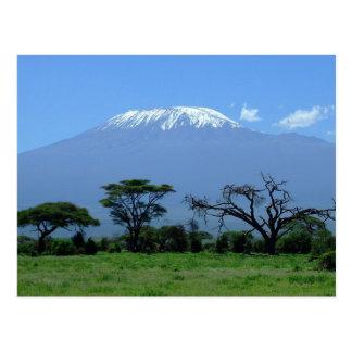 Briefkaart van Onderstel Kilimanjaro