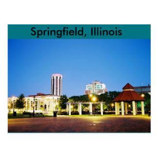 briefkaart van Springfield, Illinois