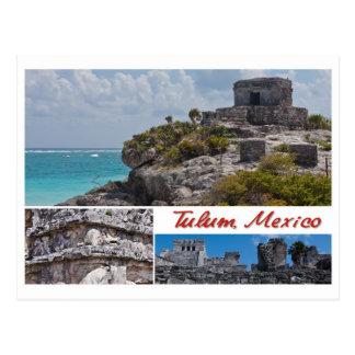 Briefkaart van Tulum, Mexico