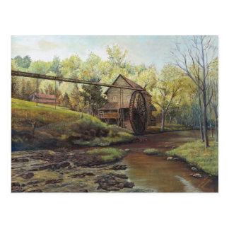 Briefkaart - Watermill bij Dageraad