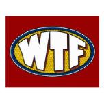Briefkaart WTF Wenskaart