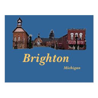 Brighton#56, Brighton, Michigan Briefkaart