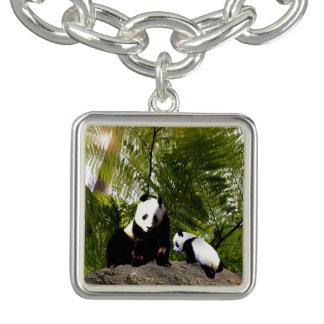 Brij en de Panda van het Baby, de Vierkante Armbandje