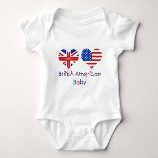 Brits Amerikaans Baby Romper